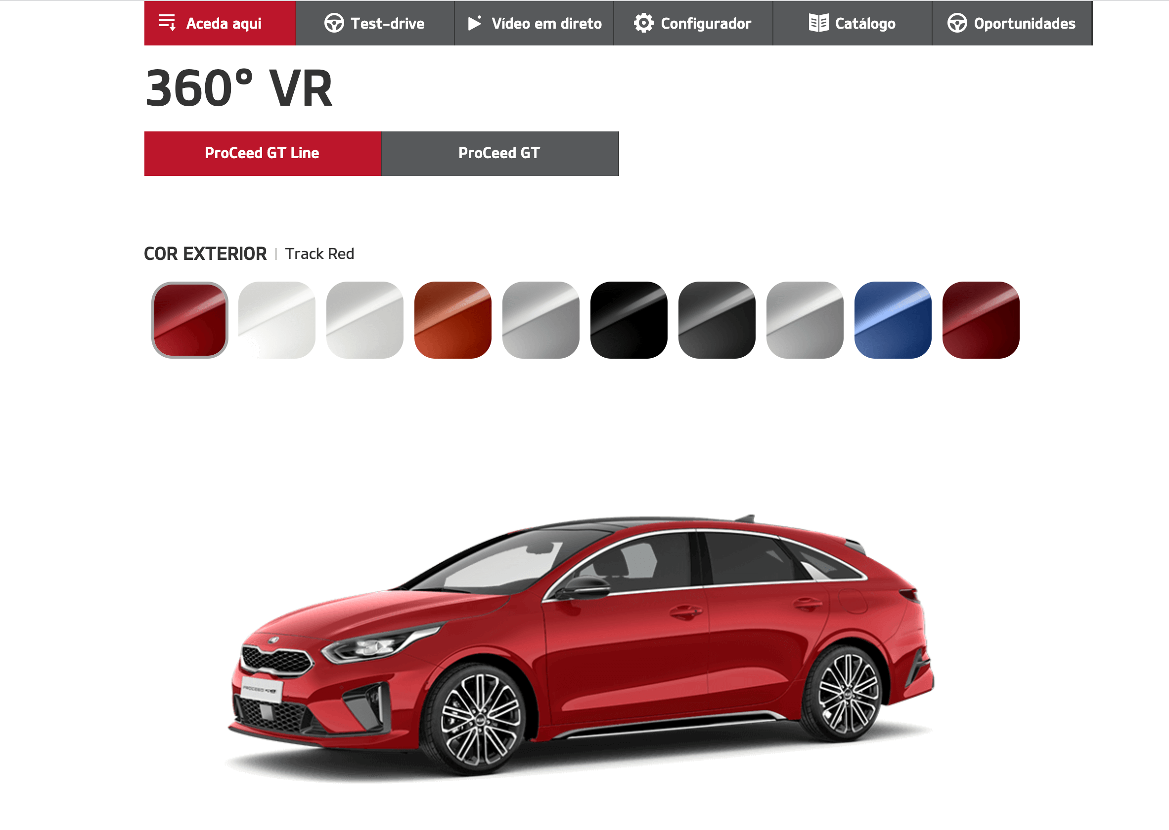 Product Page - VR